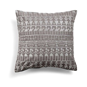 Day Ethenic Foil Cushion Cover, Haze 50x50cm