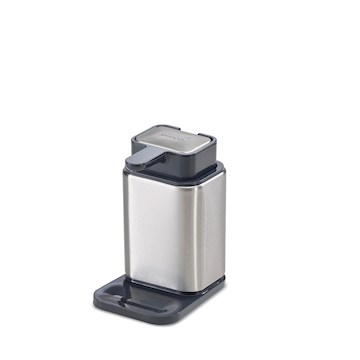 Surface stainless-steel soap pump